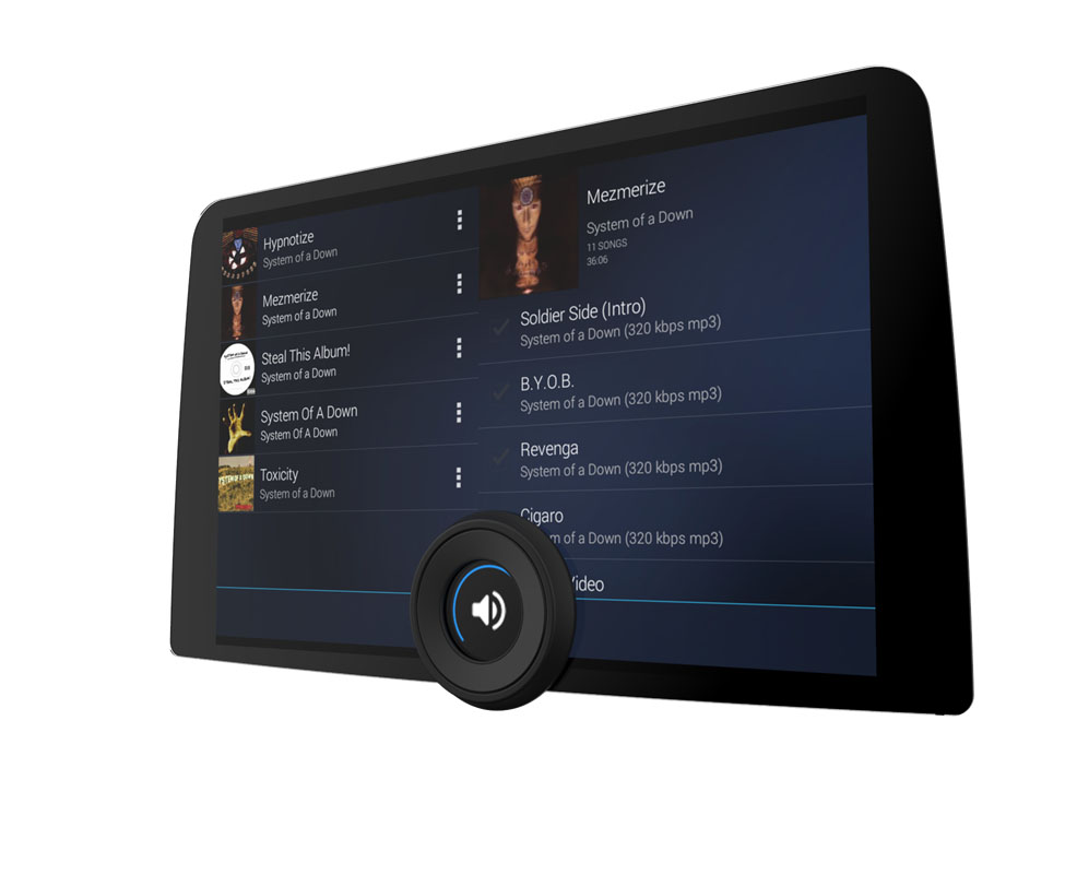 Backlight Share An Integrated Touch Display With Knob Design