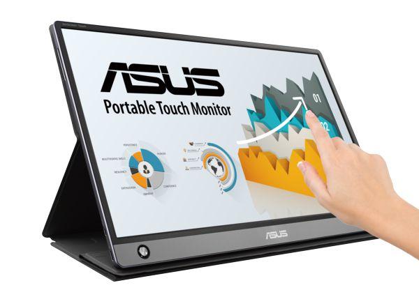 ASUS ZenScreen Touch タッチ式液晶ディスプレイ