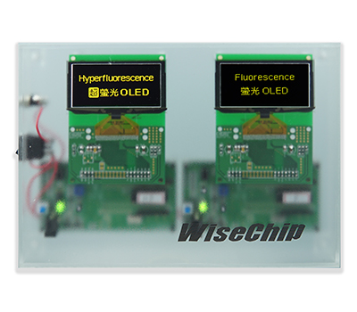 Hyperfluorescence PMOLED Display- WiseChip Semiconductor Inc.