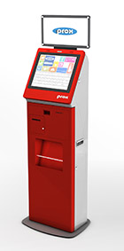 Multi-functional self-service KIOSK terminal / Protech Systems Co., Ltd.
