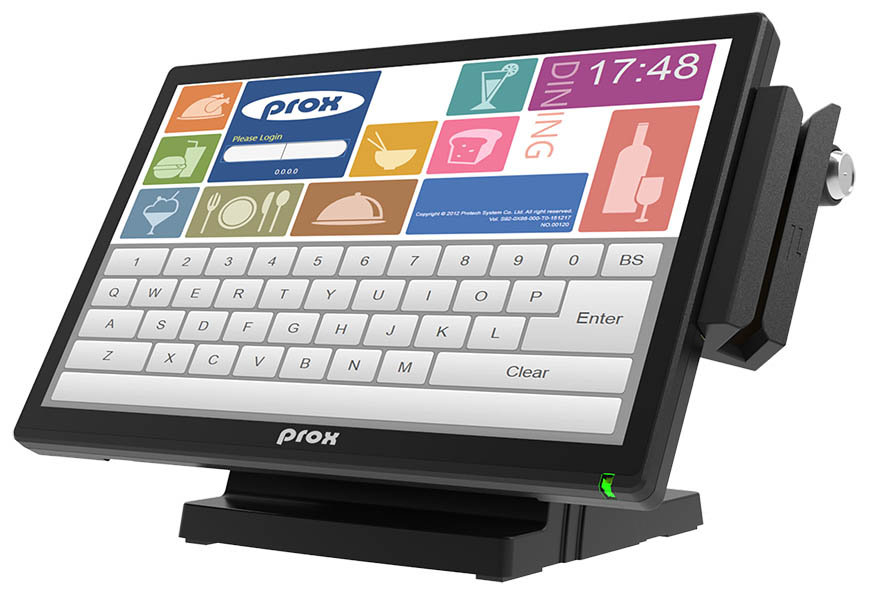 "15.6"" touch window integrated POS"
