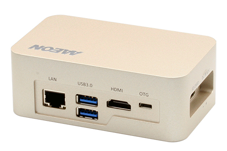 AI@Edge Fanless Embedded Box PC with NVIDIA Jetson TX2 and AI Car plate software / AAEON Technology Inc.
