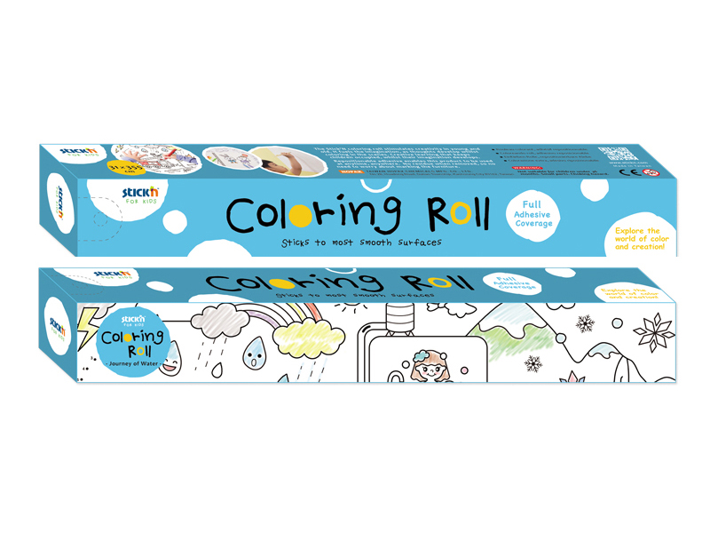 Stick'n Coloring Roll
