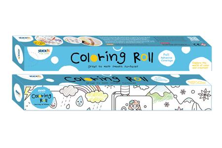 Stick'n Coloring Roll / TAIWAN HOPAX CHEMICALS MFG. CO., LTD.