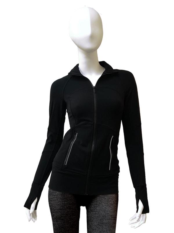 SINGTEX S.LEISURE green elastic sports outerwear