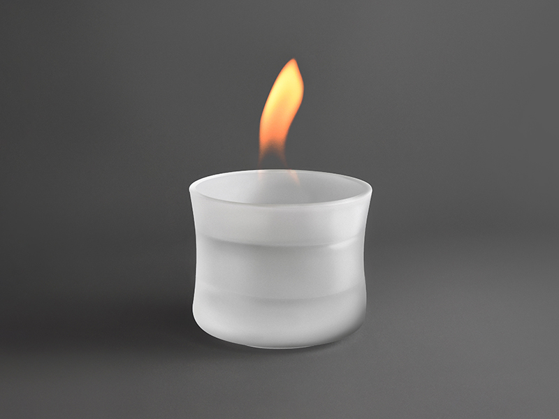 MIST Glass Candle