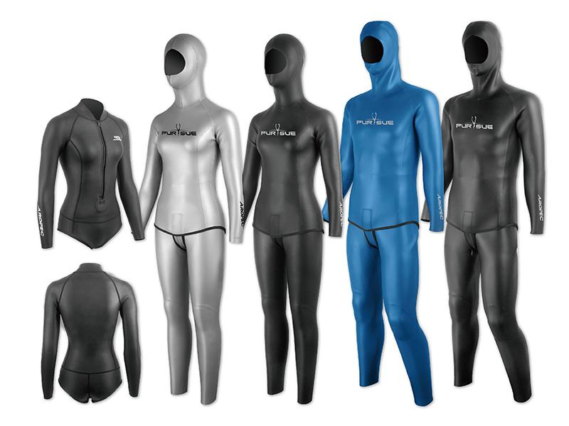 自由潛水防寒衣