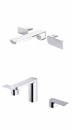Arch 2 Two-Handle Basin Faucet /wall-mounted basin Faucet / SHENG TAI BRASSWARE CO., LTD.