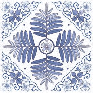 青花瓷系列 石英晶釉瓷板-白馬窯業股份有限公司