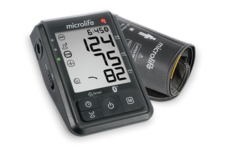 Bluetooth® blood pressure monitor with stroke risk detection / Microlife Corporation