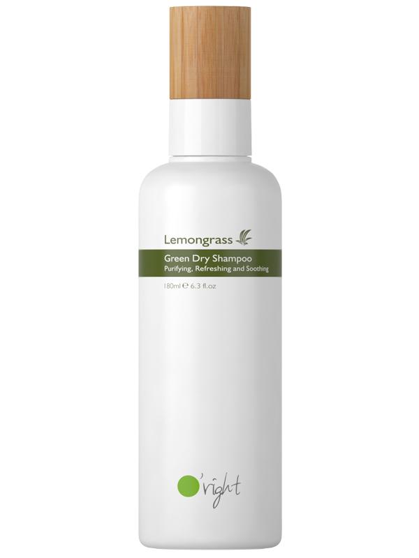 Lemongrass Green Dry Shampoo