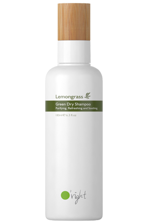Lemongrass Green Dry Shampoo- Hair O'right International Corp.