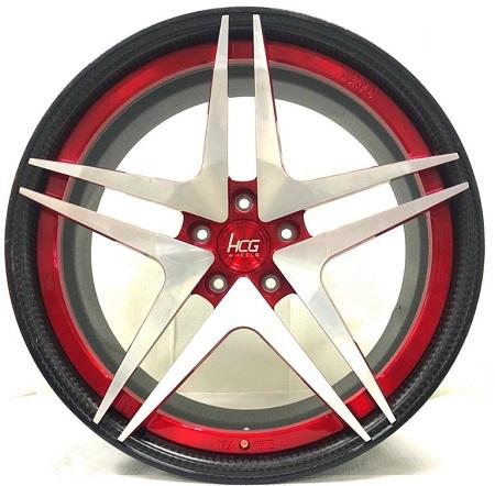 Carbon fiber reinforcement plastic wheels / HOCHENG CORPORATION