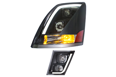 TOPOWER SKYLINE DAWN COMMERCIAL TRUCK HEADLIGHT/FOG LIGHT WITH LED LIGHT BAR / Topower Co., Ltd.