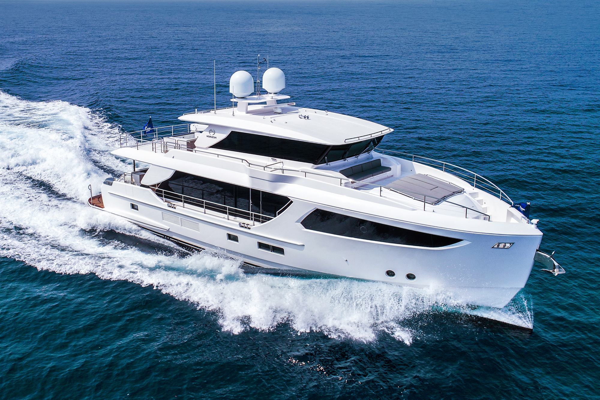 80feet luxury motor yacht / Horizon Yacht Co., Ltd.