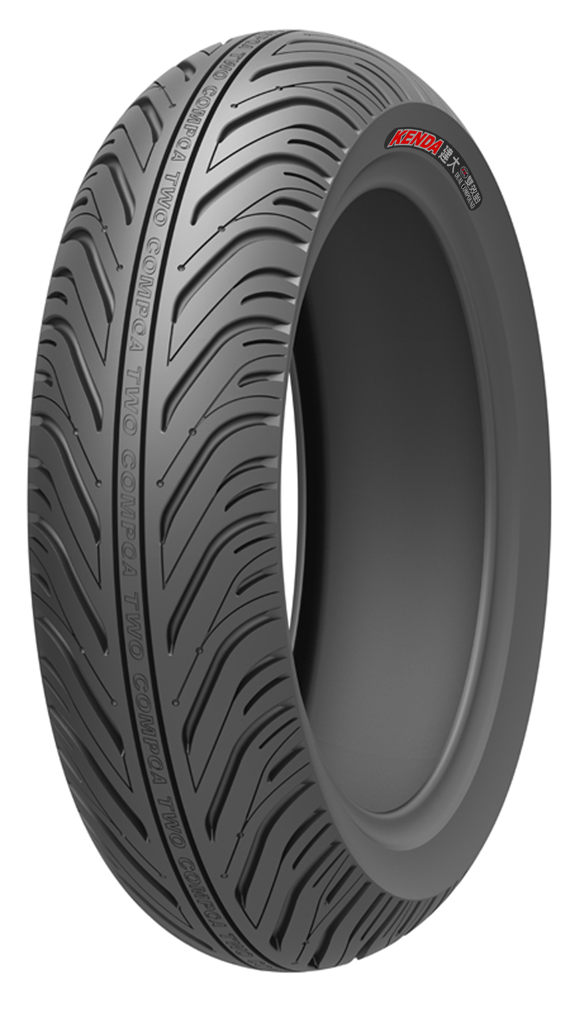 Dual compound Motorcycle Tire