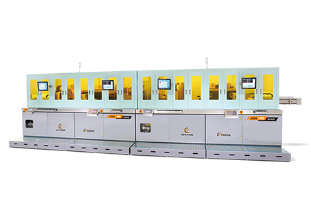 Fully Automatic PCB Double Sided Legend Ink Jet Printing Line-ATMA CHAMP ENT. CORP.