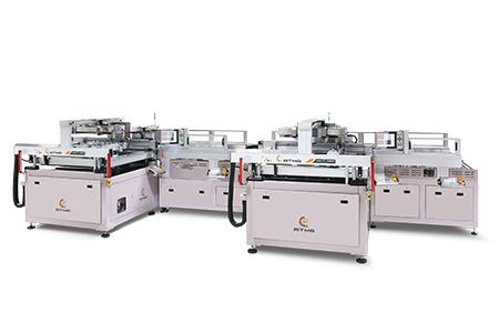 自動厚薄電路板塞孔網印機(雙工位) / 東遠精技工業股份有限公司