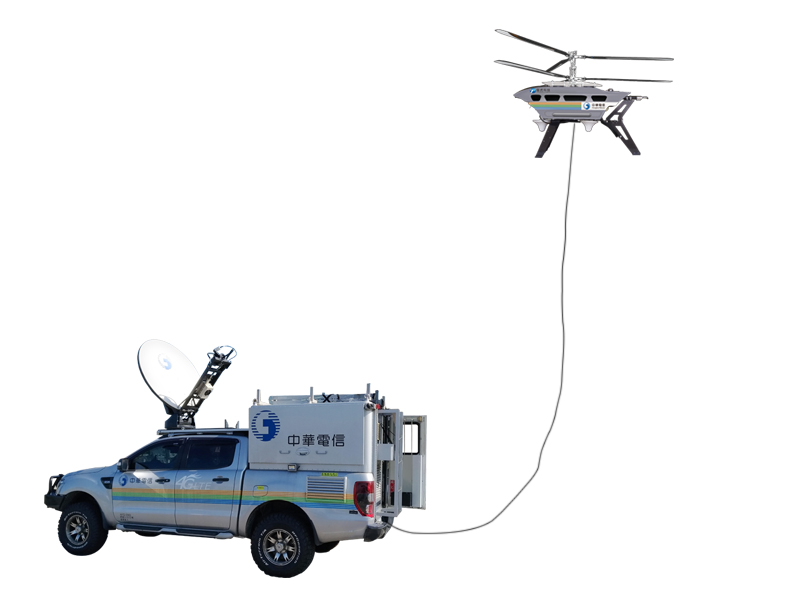 Flying Mobile Base Station for Emergency Recovery