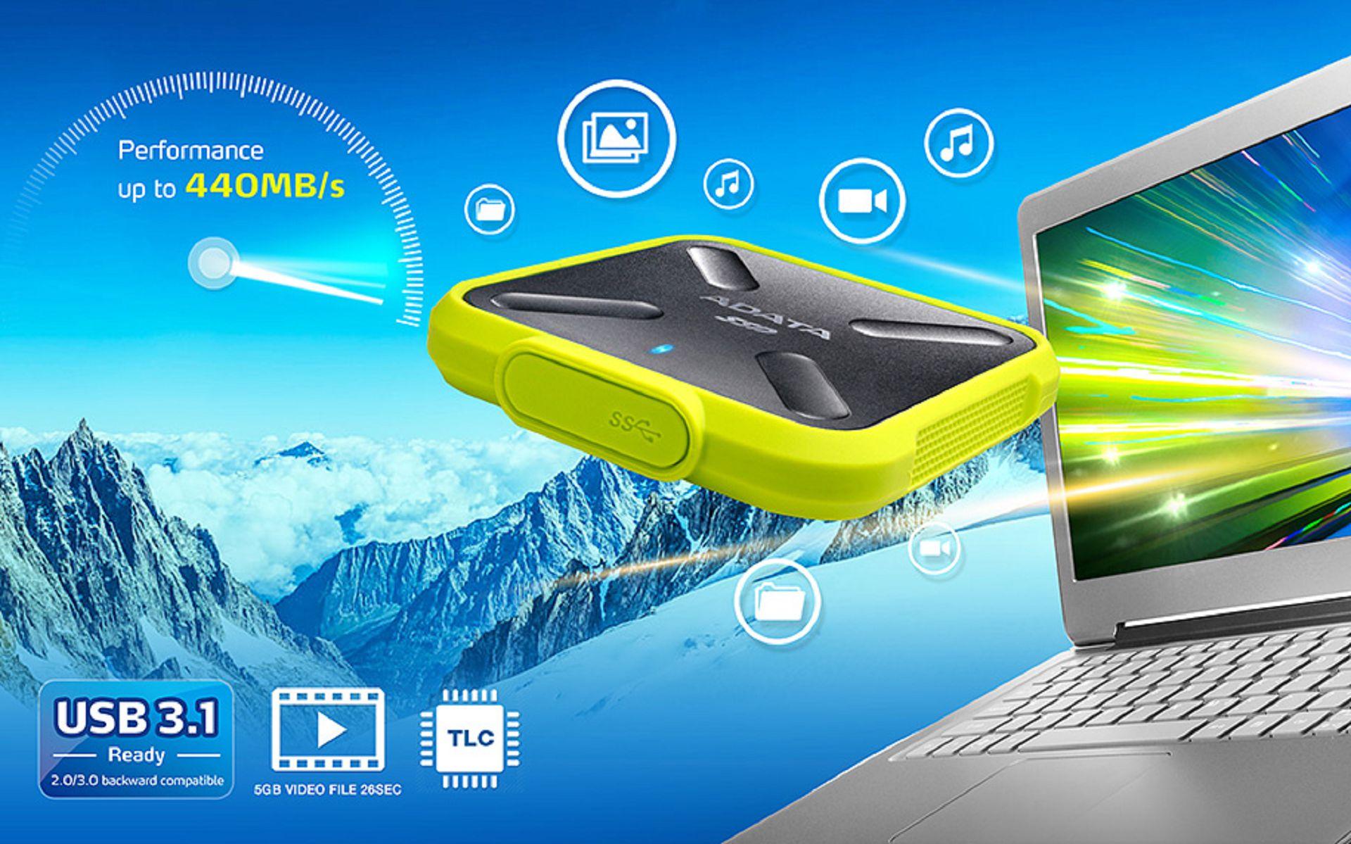 ADATA Technology Co., Ltd.-External Solid State Drive