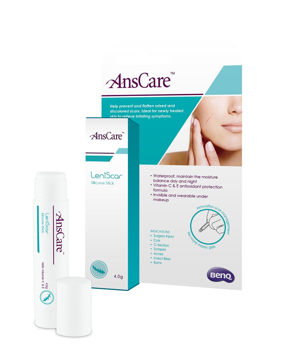 AnsCare LeniScar Silicone Stick / BenQ Materials Corp.