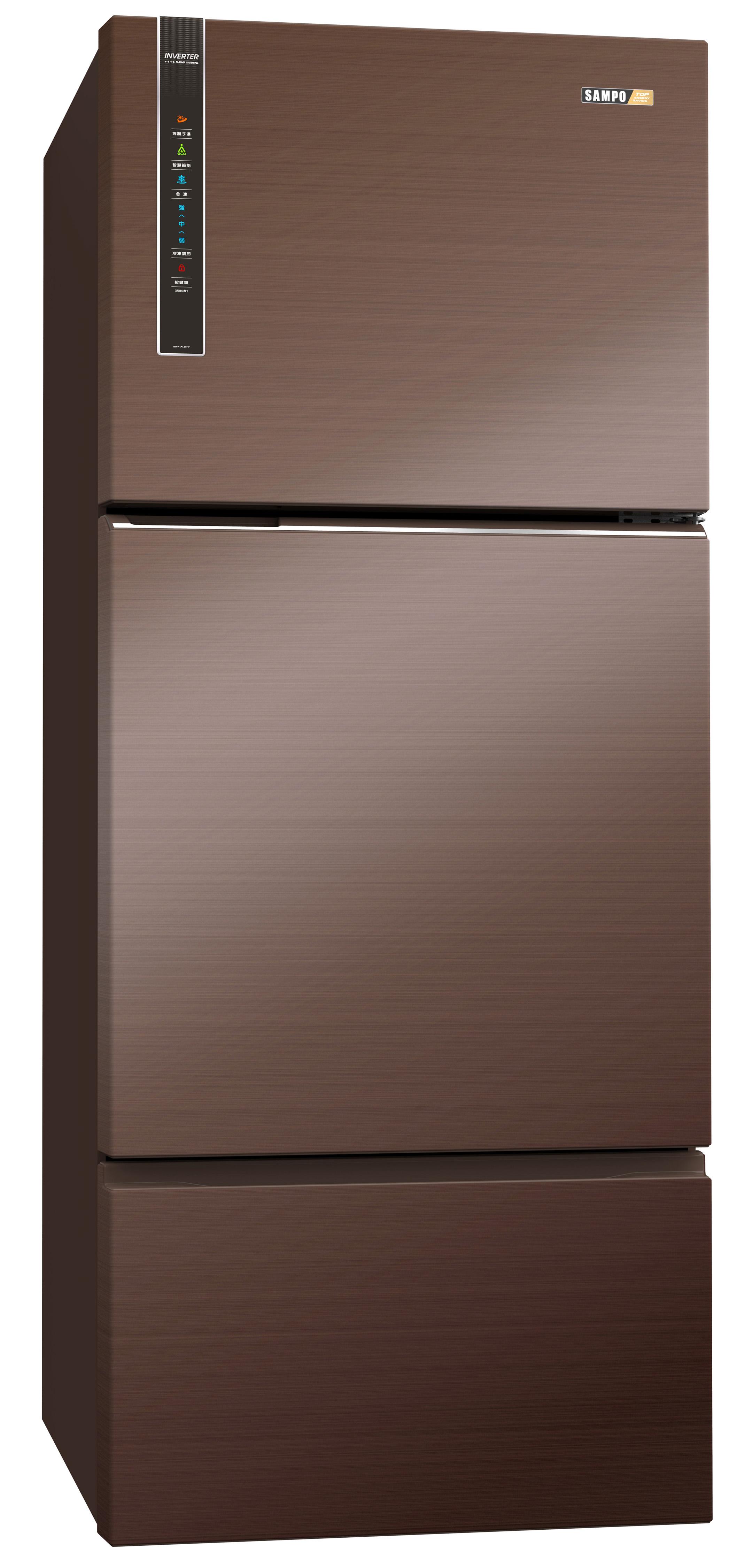 智慧節能變頻無邊框冰箱