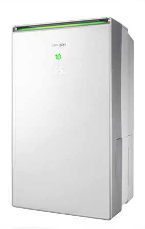 Glass air clean dehumidifier / SAMPO CORPORATION