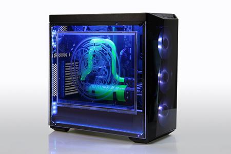 "Chunghwa Picture Tubes, Ltd.-17"" Transparent Gaming Case Display"