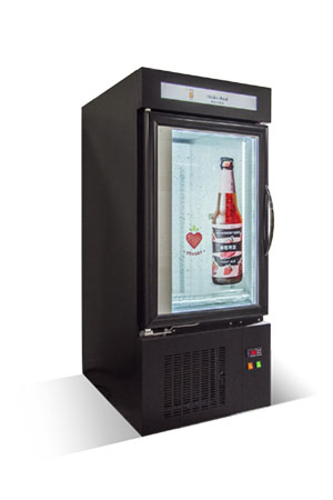 Intelligent marketing display fridge for unmanned store / LeadWell Optical Co., Ltd.