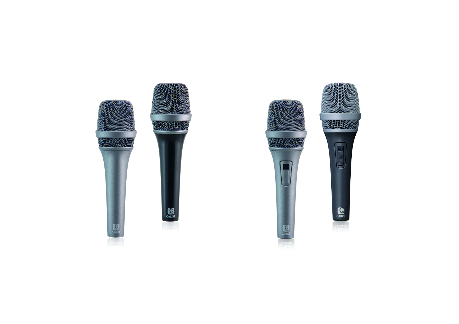 Active Vibration-Cancelling Stage Microphone