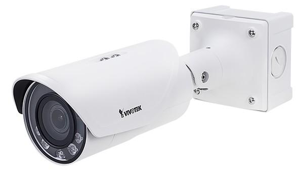 H.265兩百萬畫素資安防護戶外槍型網路攝影機 / 晶睿通訊股份有限公司