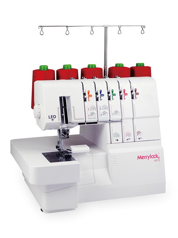 自動糸通し機能付き家庭用ロック・カバーステッチ複合機