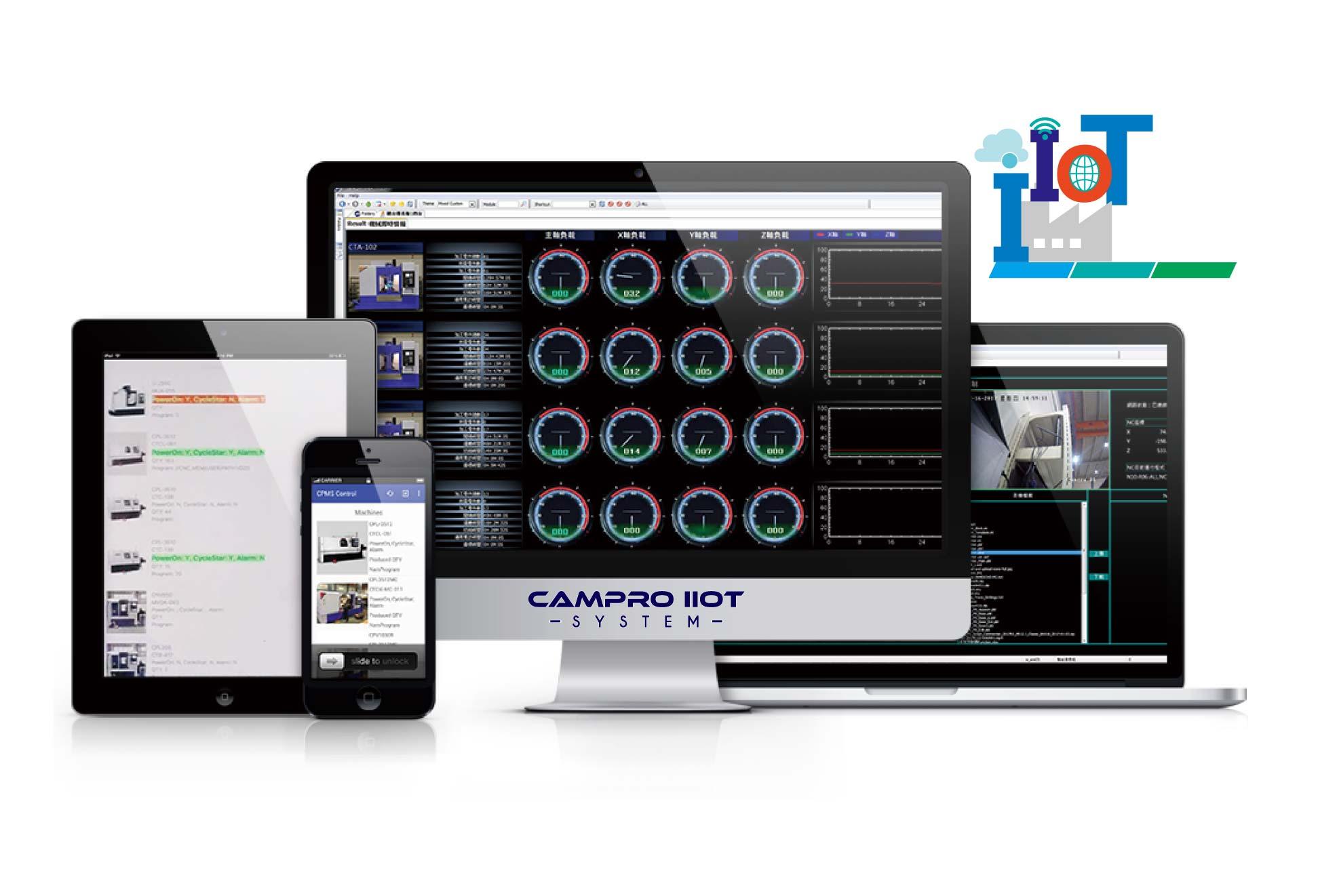 IIoT智慧機械-遠端監控暨整合化管理系統 / 凱柏精密機械股份有限公司