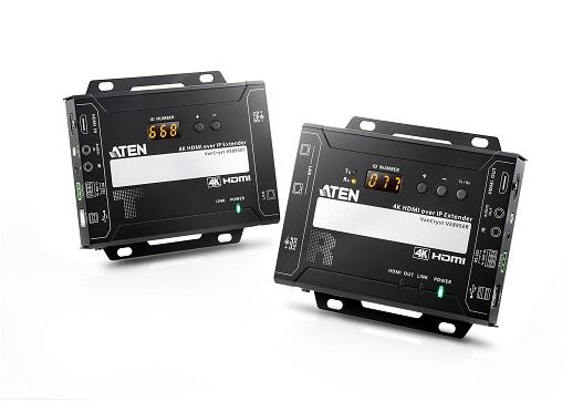 4K HDMI over IP 訊號延長器 / 宏正自動科技股份有限公司
