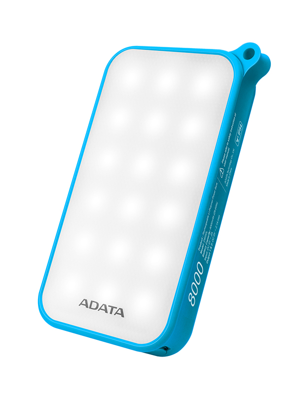 ADATA LED Lighting Power Bank  / ADATA Technology Co., Ltd.