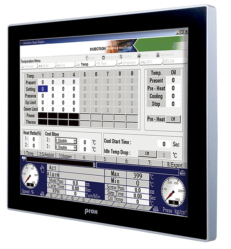 "Fanless & All-around IP66 15"" flat touch panel PC"