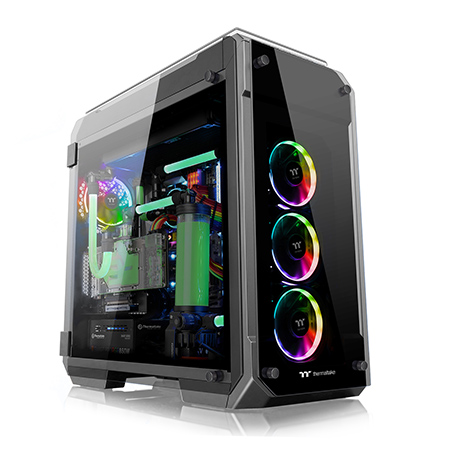 View 71 Tempered Glass RGB Edition Chassis / Thermaltake Technology Co., Ltd.