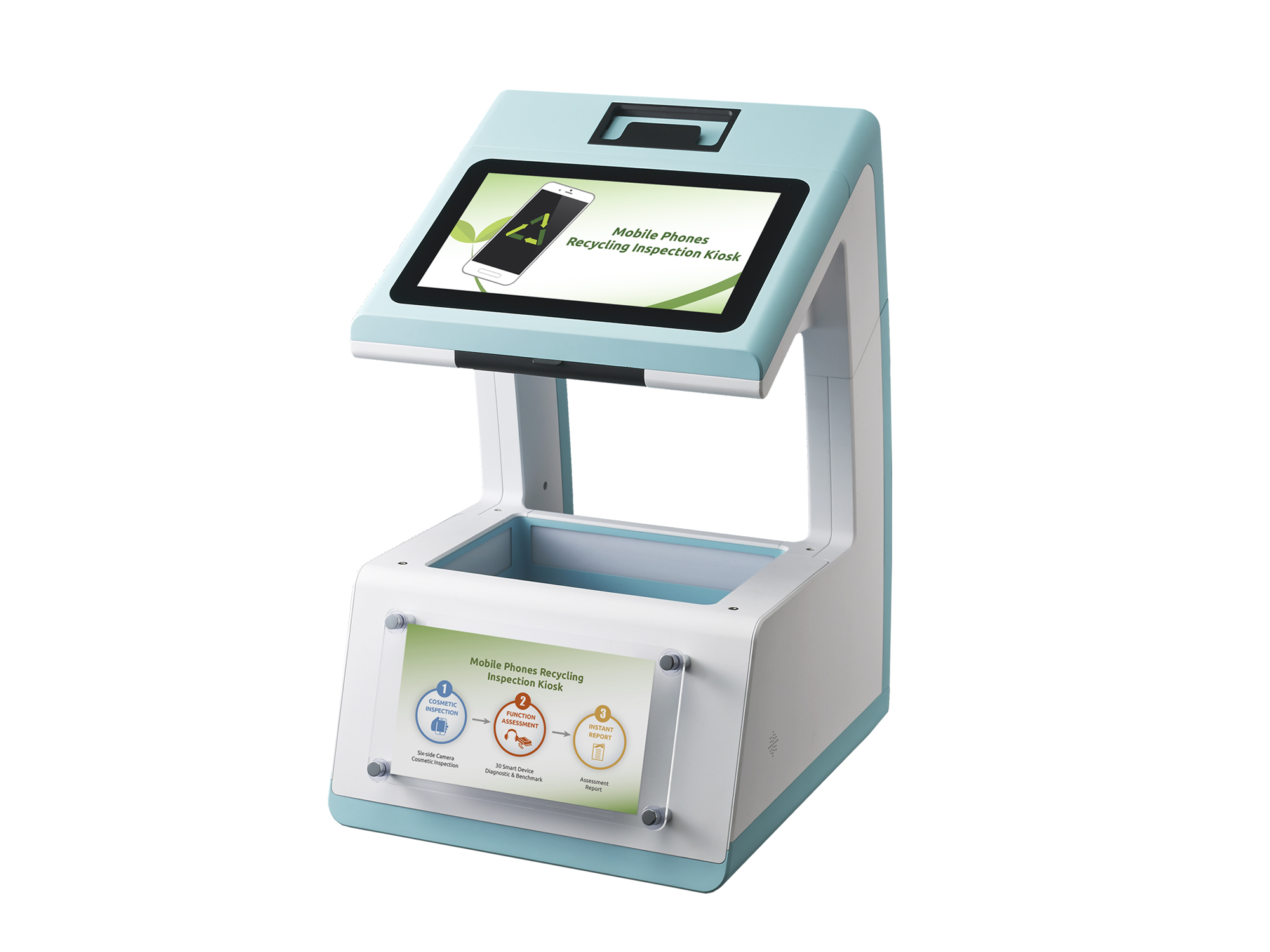 Mobile Phones Recycling Inspection Kiosk