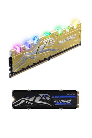 RGB DDR4 / RGB M.2 PCIe NVMe SSD / Apacer Technology Inc.