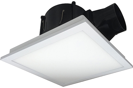 Edge-lit LED lighting Ventilation Fan -VFB21 series / DELTA ELECTRONICS, INC.
