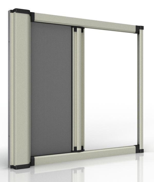 阻隔PM2.5捲軸紗窗