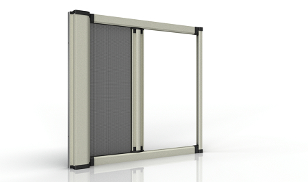 阻隔PM2.5捲軸紗窗 / 清展科技股份有限公司