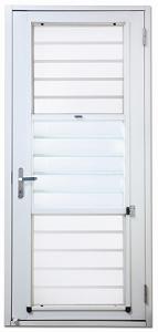 ventilation door with particle ventilation door with particle protection screen / Taroko Door & Windows Technologies, Inc.