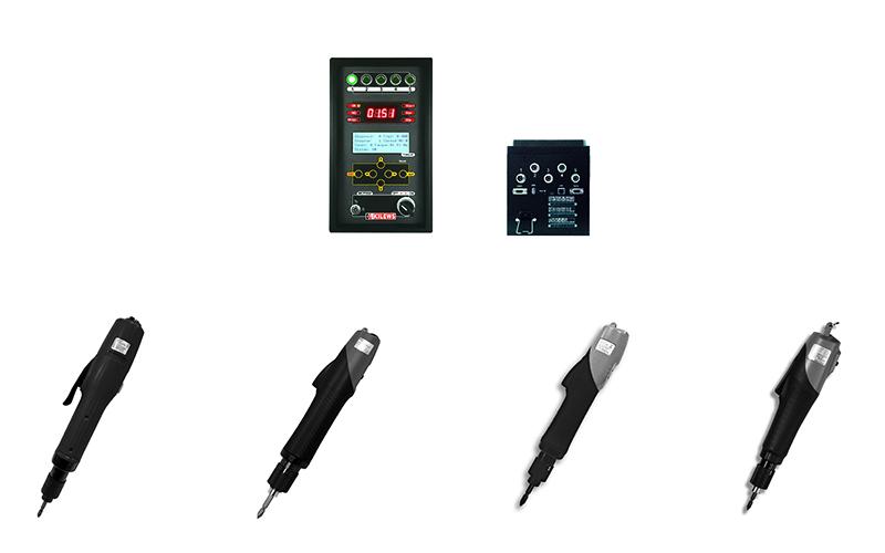 工業用智慧型計數控制器系統及扭力計算型電動起子系列