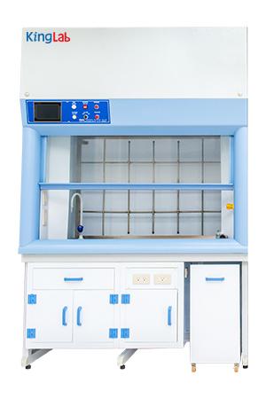 智能型斜气帘排烟柜 / 金永德實驗室設備有限公司