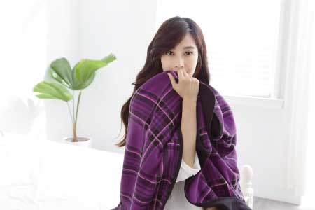 Plaid shawl-0857International Marketing Co.,Ltd