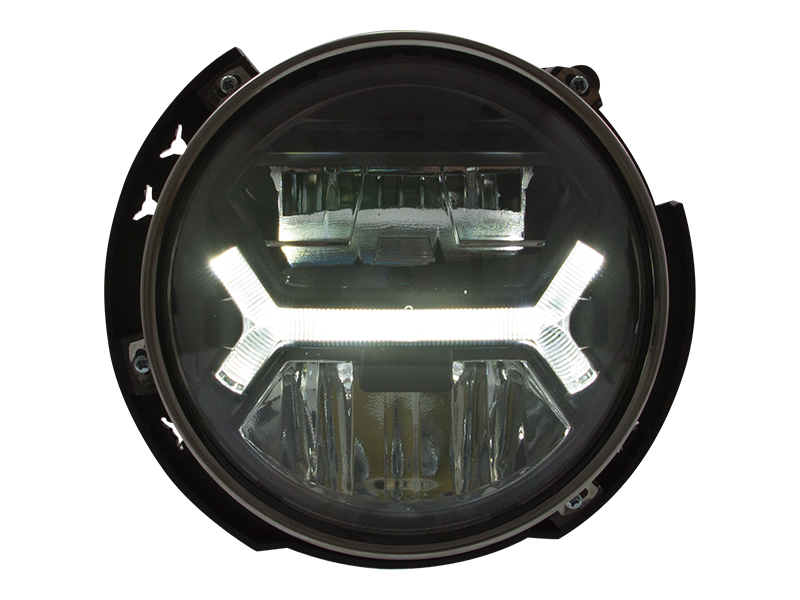 "High performance 7"" full Led universal headlight"