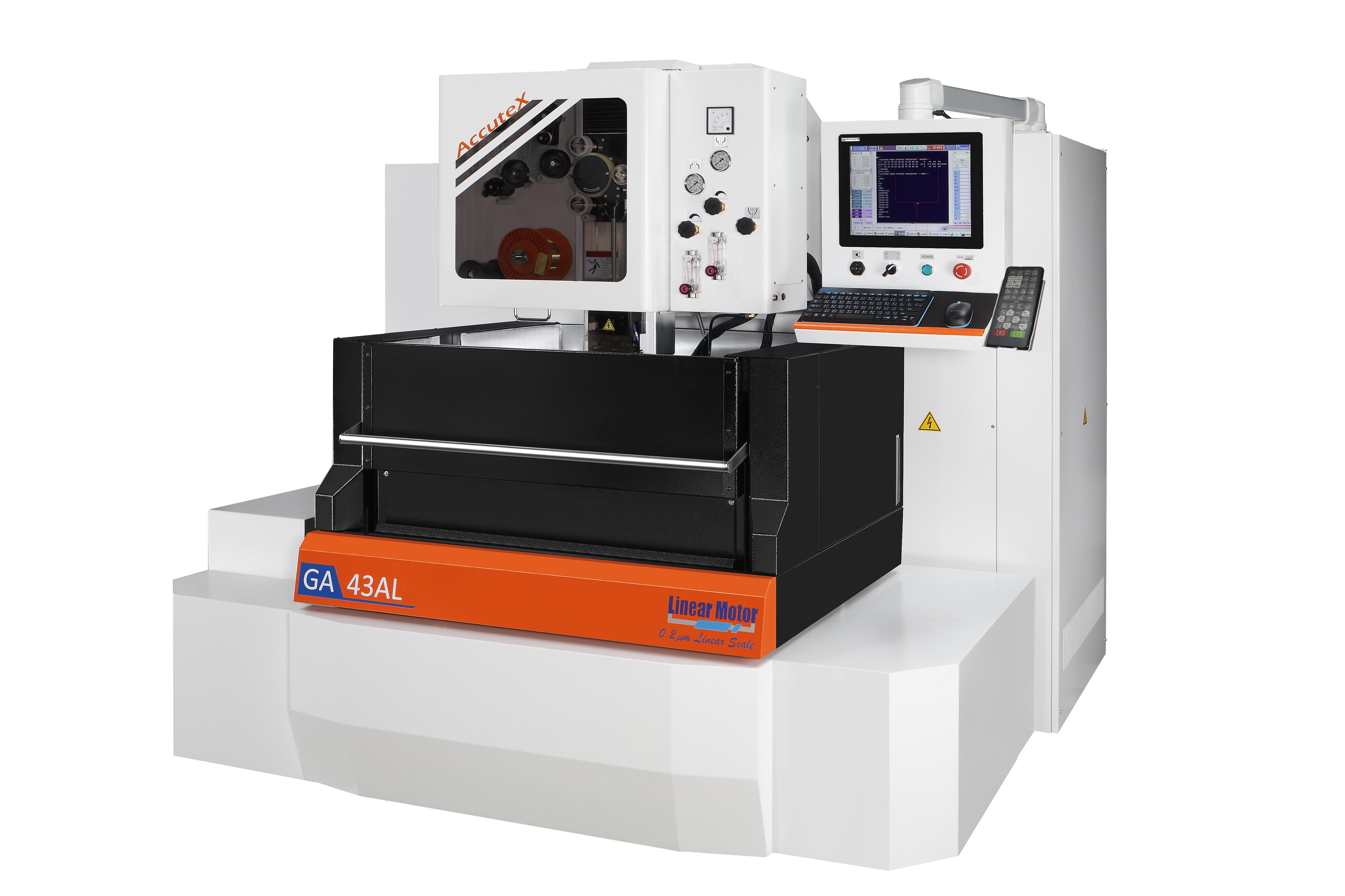 高效能線馬線切割放電加工機 / 徠通科技股份有限公司