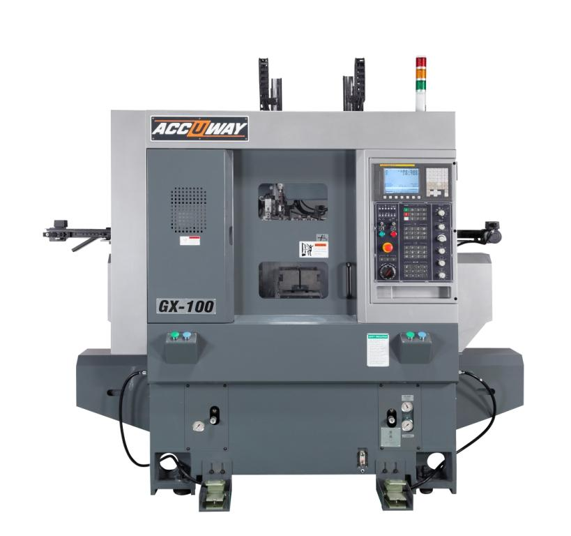 Compact CNC Lathe for Automatic Machining-ACCUWAY MACHINERY CO.,LTD