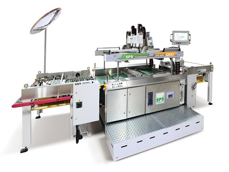 伺服高速停歇滾筒式網印機 / 伺服紙張前取送料機